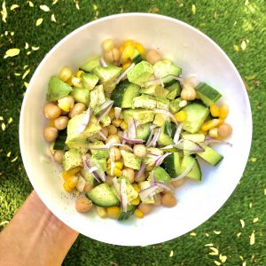 Summer Sixes Chickpea Salad