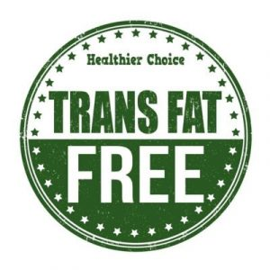 What does trans fat free mean?