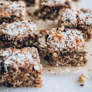 Fully loaded oat squares. Thank you, Nutritiously.