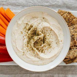 White bean hummus a la Simple Veganista